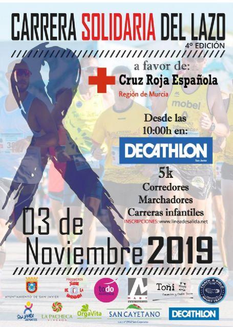 La Carrera Solidaria del Lazo dedica su tercera edición a Cruz Roja Murcia - 1, Foto 1