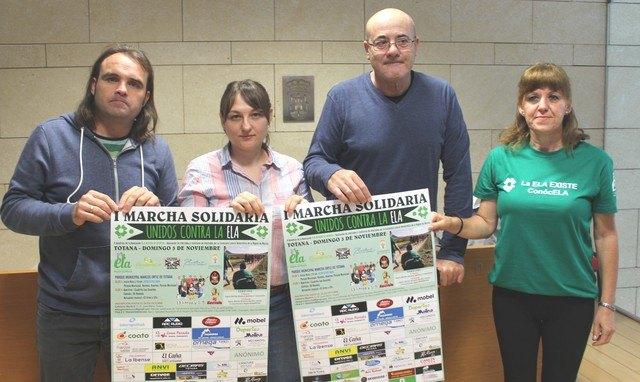 """Totana celebra la I Marcha Solidaria """"Unidos por la ELA"""" el pr�ximo 3 de noviembre, Foto 1"""