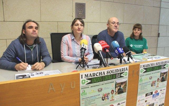 """Totana celebra la I Marcha Solidaria """"Unidos por la ELA"""" el pr�ximo 3 de noviembre, Foto 2"""