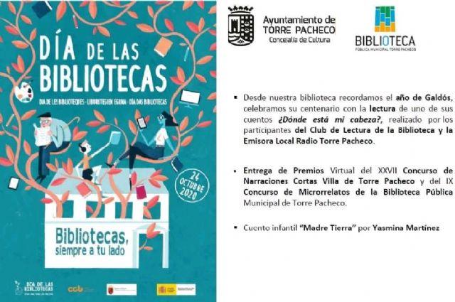 Bibliotecas, siempre a tu lado, Torre Pacheco celebra el Día de la Biblioteca - 1, Foto 1