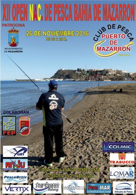 El open nacional de pesca congregará en las playas de Mazarrón a más 100 participantes, Foto 2