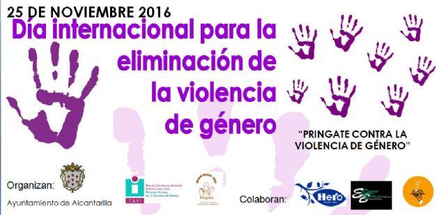 Alcantarilla conmemora mañana, 25 de noviembre, el Día Internacional contra la Violencia hacía las Mujeres - 1, Foto 1