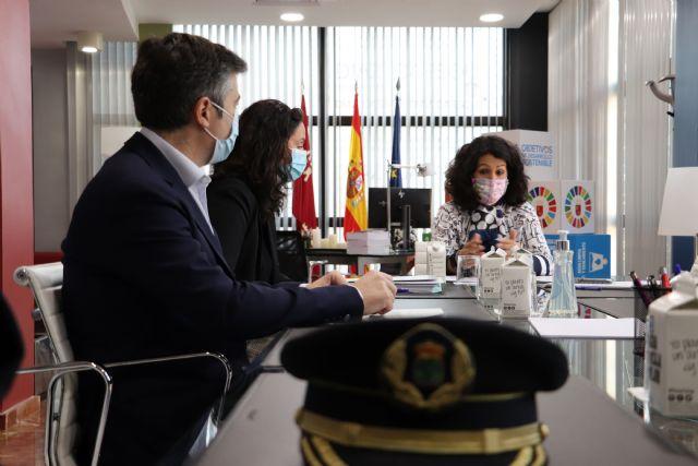 El Gobierno regional analiza la propuesta del Ayuntamiento de Fuente Álamo para la construcción del nuevo Centro Integral de Seguridad Ciudadana - 1, Foto 1