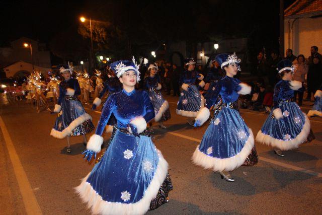 Papá Noel recorre las calles de San Pedro del Pinatar en la cabalgata Fantasía de Navidad - 3, Foto 3