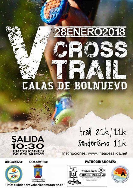 530 corredores tomarán la salida en el V cross calas de Bolnuevo - 2, Foto 2