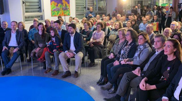 López Miras: José Ángel Alfonso representa el cambio que necesita Molina para impulsar el desarrollo económico y el empleo en el municipio - 1, Foto 1