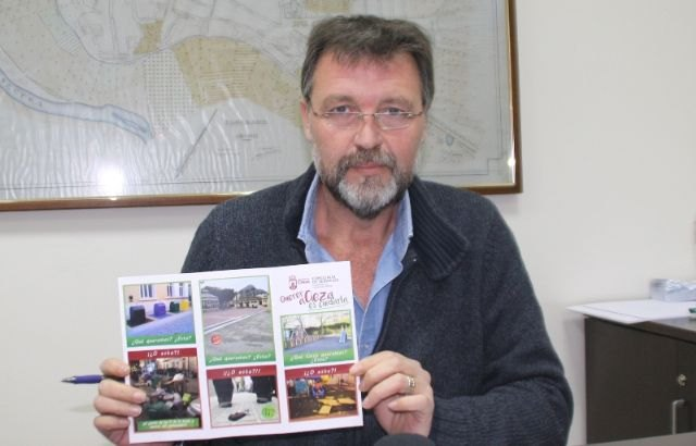 Francisco Saorín presenta una campaña para sensibilizar a la ciudadana sobre la limpieza viaria - 1, Foto 1