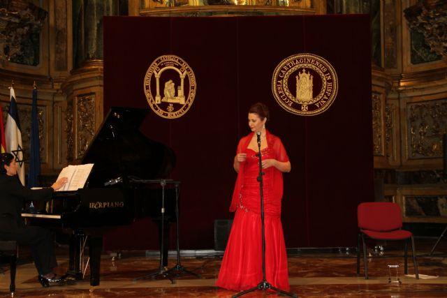 La soprano argentino-israelí Sivan Rotem ha interpretado esta tarde en la UCAM 'Viva el amor' - 1, Foto 1