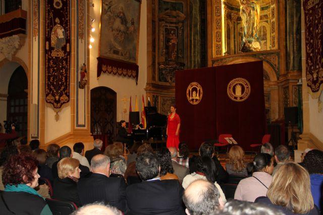 La soprano argentino-israelí Sivan Rotem ha interpretado esta tarde en la UCAM 'Viva el amor' - 2, Foto 2