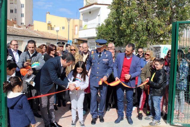 Abrieron las puertas al público del rehabilitado Parque de Aviación en Alcantarilla - 1, Foto 1