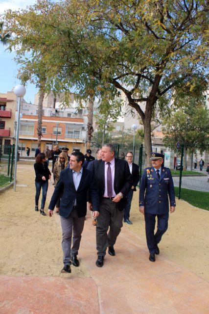 Abrieron las puertas al público del rehabilitado Parque de Aviación en Alcantarilla - 2, Foto 2