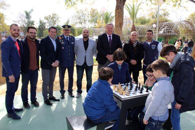Abrieron las puertas al público del rehabilitado Parque de Aviación en Alcantarilla - 5, Foto 5