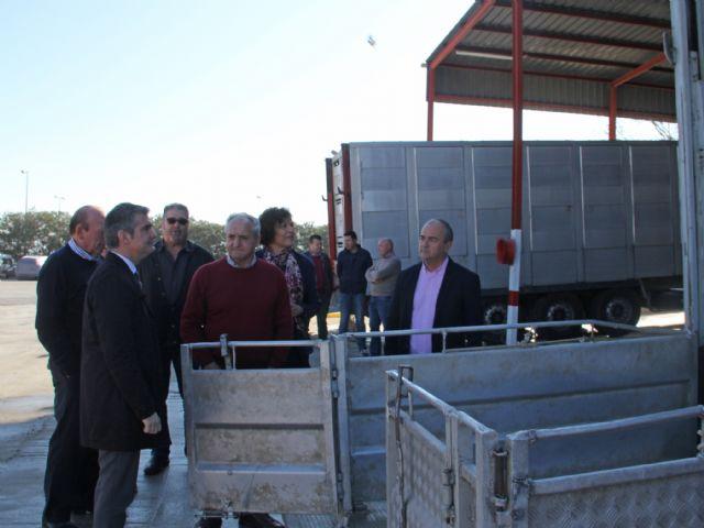 Puerto Lumbreras reabre el centro de limpieza y desinfección de vehículos de transporte animal - 1, Foto 1