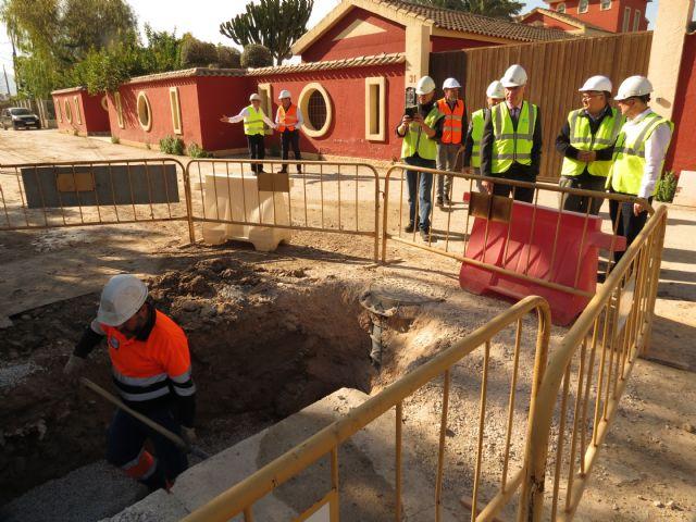18 hogares de Zarandona dispondrán en las próximas semanas de servicio de alcantarillado - 1, Foto 1