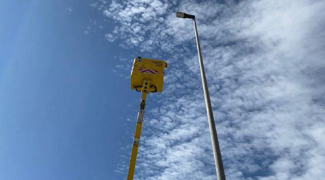 El Ayuntamiento mejora la seguridad vial de la Avenida Lorca de Sangonera La Seca con la instalación de nuevas luminarias LED - 3, Foto 3