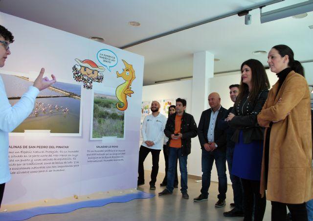 La exposición ´Mar Menor, nuestro humedl´ pretende implicar a los habitantes de Fuente Álamo en la conservación de este ecosistema - 1, Foto 1