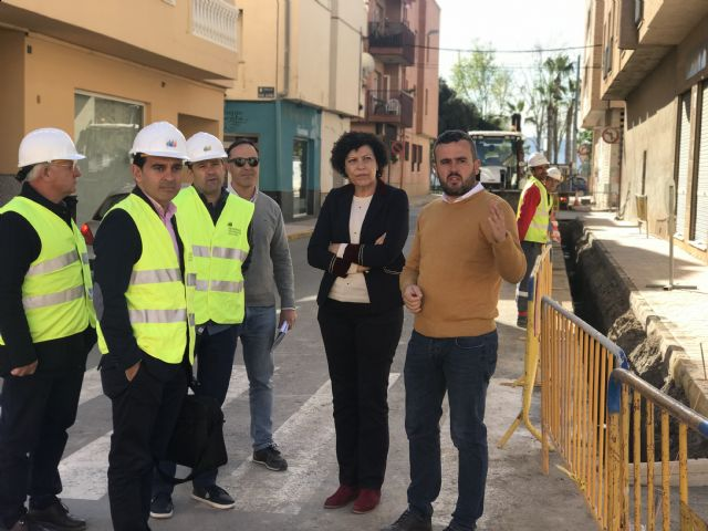 Las obras de la nueva línea subterránea de media tensión mejorarán la calidad del suministro eléctrico en Puerto Lumbreras - 2, Foto 2