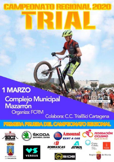 Mazarrón se prepara para vivir un nuevo domingo de ciclismo con pruebas de trial y mtb - 1, Foto 1
