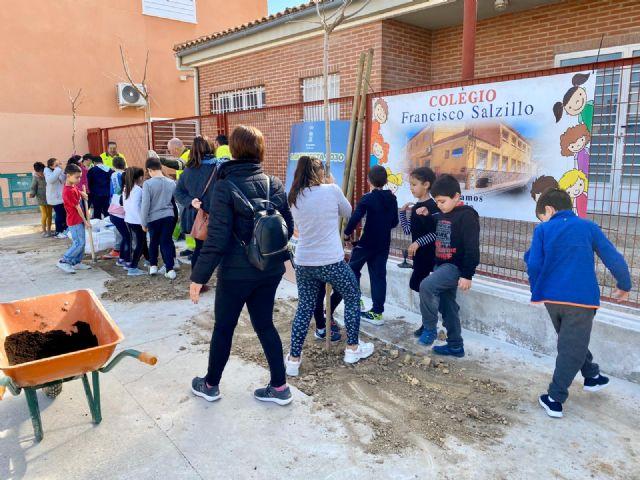 El colegio Francisco Salzillo de Los Ramos se suma a la plantación de nuevo arbolado gracias al Plan Foresta - 3, Foto 3