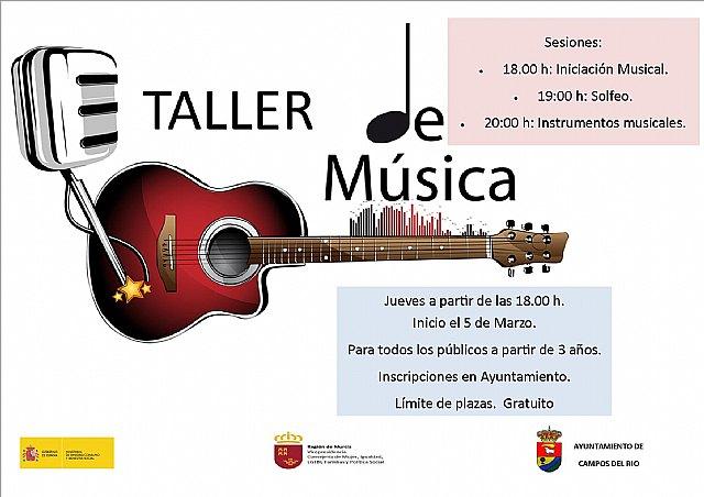 Campos del Río acoge un taller de Música - 1, Foto 1