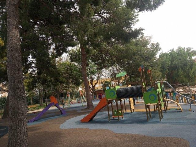Se reabre a partir de mañana la zona de juegos infantiles del Parque Municipal Marcos Ortiz - 1, Foto 1