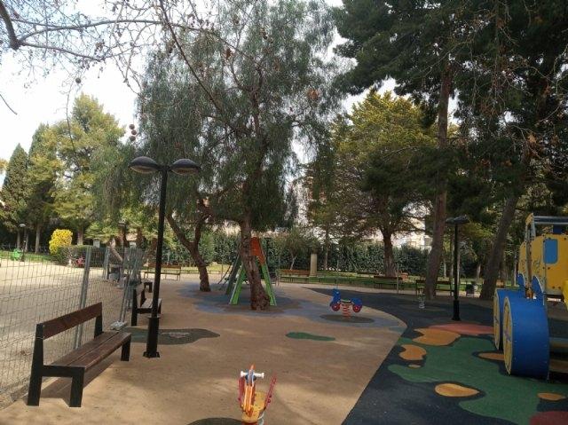 Se reabre a partir de mañana la zona de juegos infantiles del Parque Municipal Marcos Ortiz - 2, Foto 2