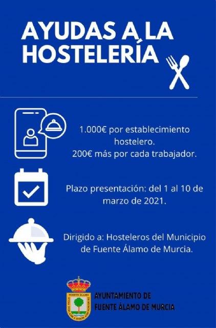 Los hosteleros de Fuente Álamo se beneficiarán de las ayudas propuestas por VOX a partir del lunes - 1, Foto 1