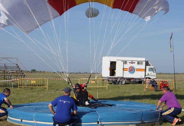 La Base Aérea de Alcantarilla acoge desde este próximo lunes el 50 Campeonato Nacional Militar de Paracaidismo y Torneo Internacional - 1, Foto 1
