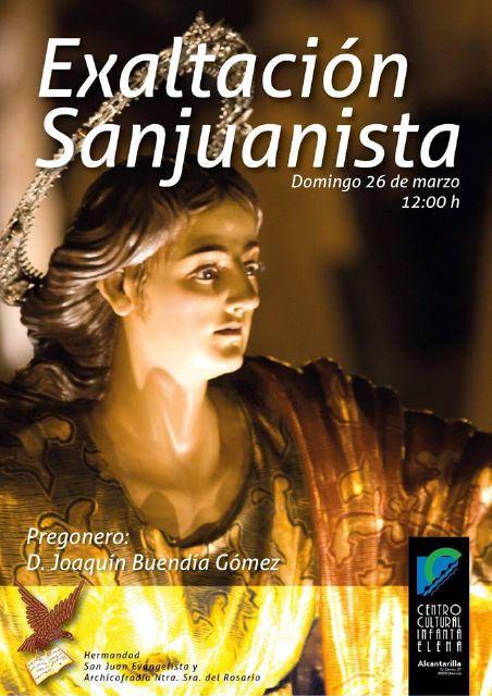 La Hermandad de San Juan de Alcantarilla celebra mañana su acto de Exaltación Sanjuanista - 1, Foto 1