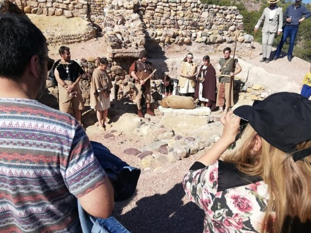 The next theatrical visit to the site of La Bastida de Totana will be on Saturday, April 13, in two morning shifts