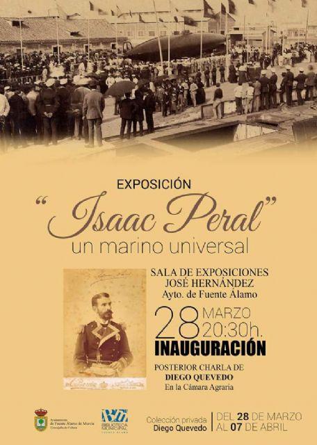 Fuente Álamo acogerá la mayor exposición de fondos privados sobre el inventor del submarino Isaac Peral - 1, Foto 1