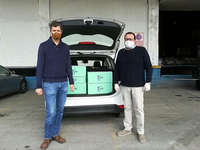 Fetén, realiza una donación a Cruz Roja y al Banco de Alimentos de Murcia, Foto 1