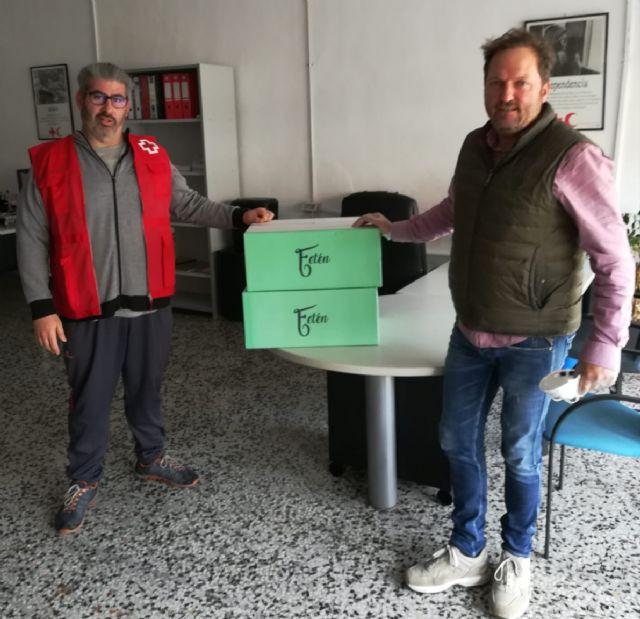Fetén, realiza una donación a Cruz Roja y al Banco de Alimentos de Murcia, Foto 2