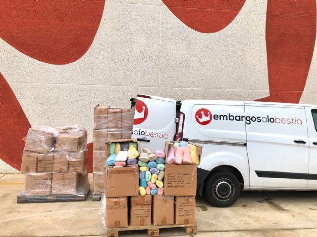 Embargosalobestia dona 3.000 juegos de cama para ayudar a cubrir las necesidades sanitarias por la crisis del coronavirus, Foto 1