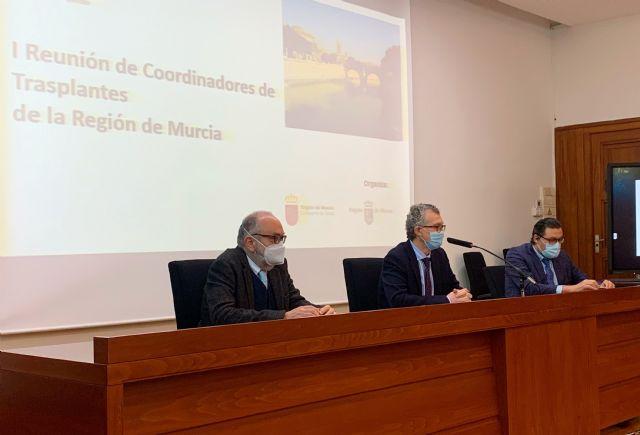 SALUD / El consejero de Salud preside la I Reunión de Coordinadores de Trasplantes de la Región de Murcia - murcia.com