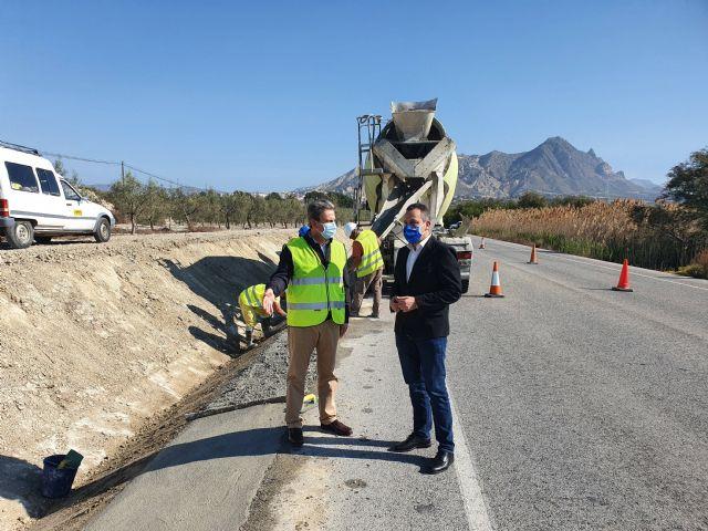 Fomento realiza obras de mejora en la carretera que conecta Abanilla con Santomera - 1, Foto 1