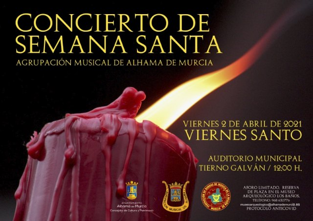 El Concierto de Semana Santa 2021 de la Agrupación Musical será el próximo Viernes Santo - 1, Foto 1