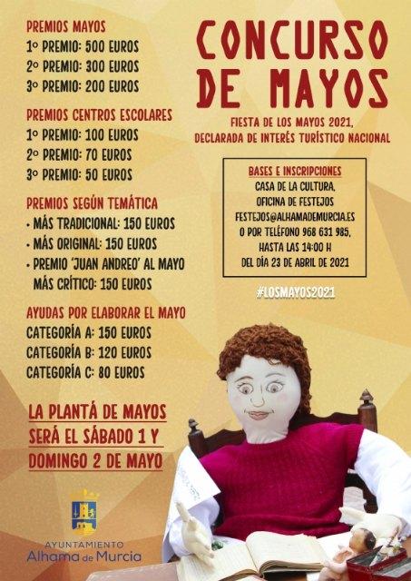 Festejos presenta las bases de los concursos de Mayos 2021 - 1, Foto 1