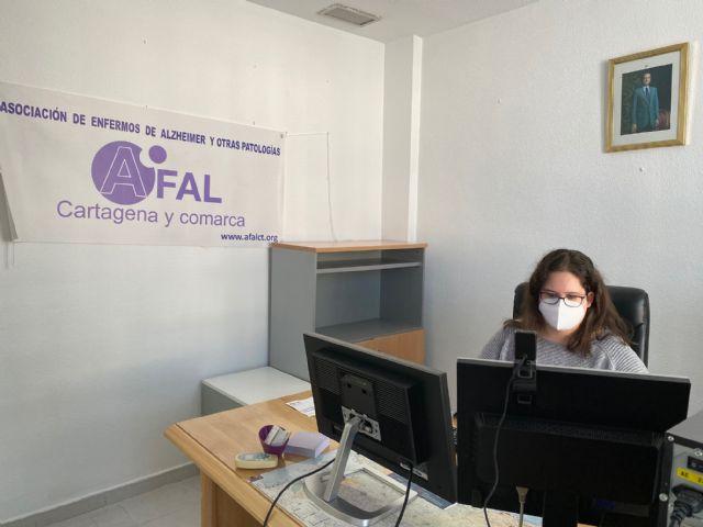 AFAL Cartagena y Comarca traslada sus servicios en Torre Pacheco a una nueva sede - 1, Foto 1