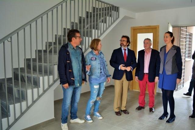 Fomento entrega en Ojós las llaves de cinco viviendas de promoción pública de alquiler a familias con necesidades de residencia - 3, Foto 3