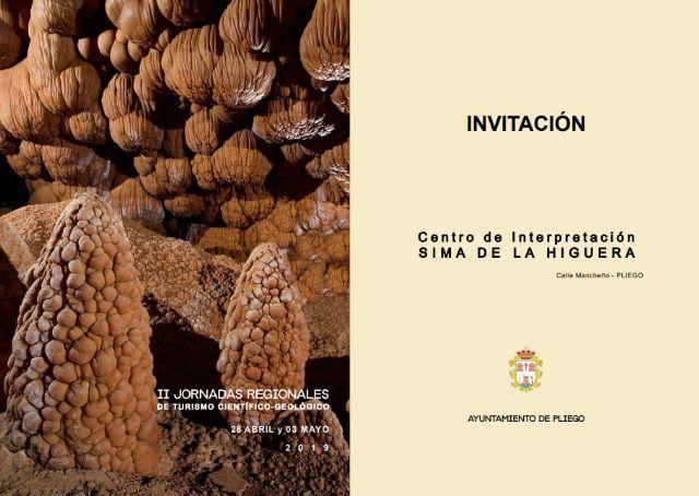 Se celebran en Pliego las II Jornadas Regionales de turismo científico-geológico. - 1, Foto 1