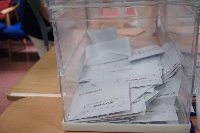 Candidaturas circunscripción electoral Totana.