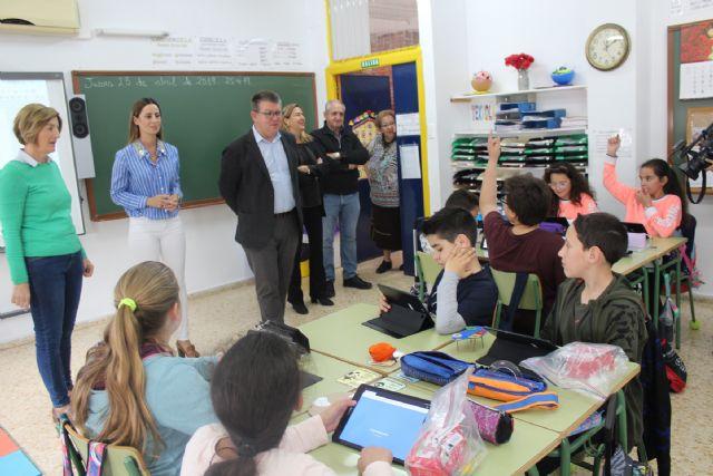 Los alumnos del colegio Purísima Concepción se benefician del programa 'Samsung Smart School' - 1, Foto 1