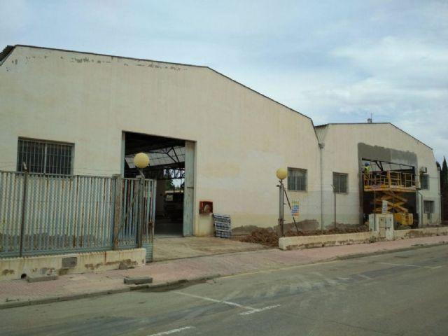 Comienzan las obras para la apertura de una ITV en el Parque Industrial de Alhama