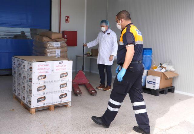 La murciana MasTrigo dona 200 kilos de producto para las personas más vulnerables de Abanilla - 1, Foto 1