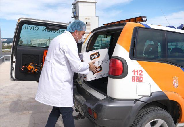 La murciana MasTrigo dona 200 kilos de producto para las personas más vulnerables de Abanilla - 2, Foto 2