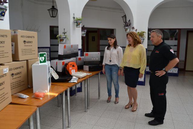 Nueve monitores desfibriladores se suman a la dotación del Servicio de Emergencias - 1, Foto 1