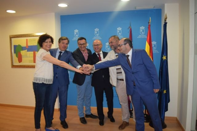 Puerto Lumbreras, Mazarrón, Alhama, Totana y Fuente Álamo colaborarán con la Comunidad para acelerar proyectos de inversión, Foto 1