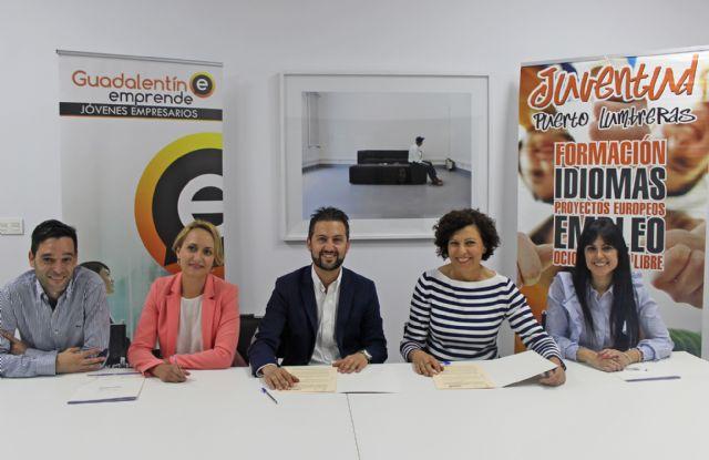 El Ayuntamiento y Gudalentín Emprende renuevan el convenio de colaboración para impulsar el emprendimiento en Puerto Lumbreras - 1, Foto 1