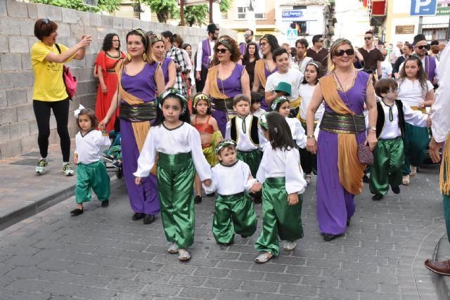 Desfile infantil de moros y cristianos e inauguración del Campamento Medieval e imposición de bandas a las Abanderadas - 3, Foto 3